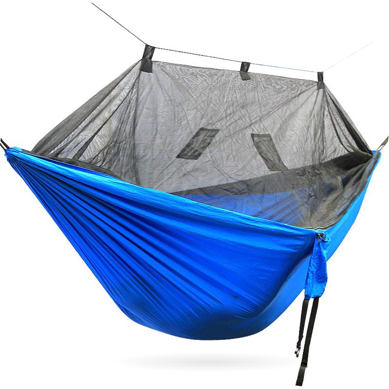 Outdoor Double Lightweight Nylon Parachute Camping Hammock